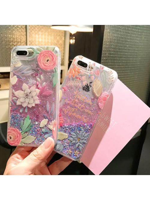 Dynamic iPhone Cases Bundle - The Succulent And The Flowers (2 Cases Included)