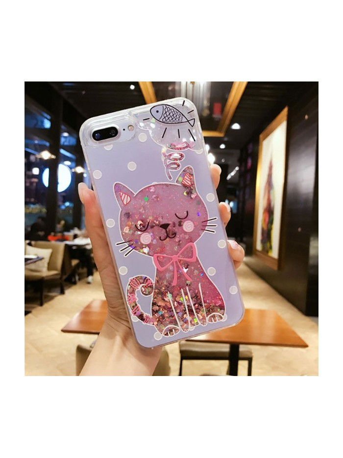 Dynamic iPhone Cases - Cat And Fish