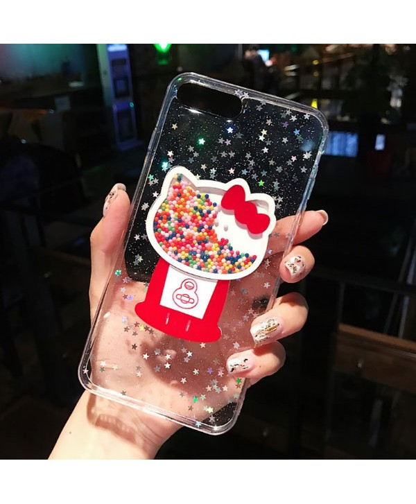 iPhone Glitter Kitty Cat Protective Case