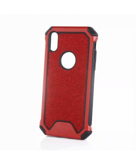 iPhone XS Rugged Glitter Protective Case