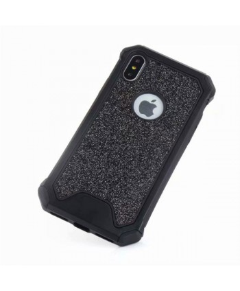 iPhone X Rugged Glitter Protective Case