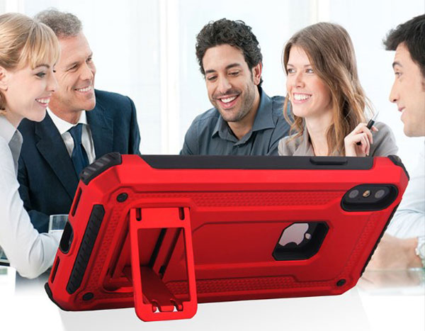 Rugged iPhone Case With Kickstand