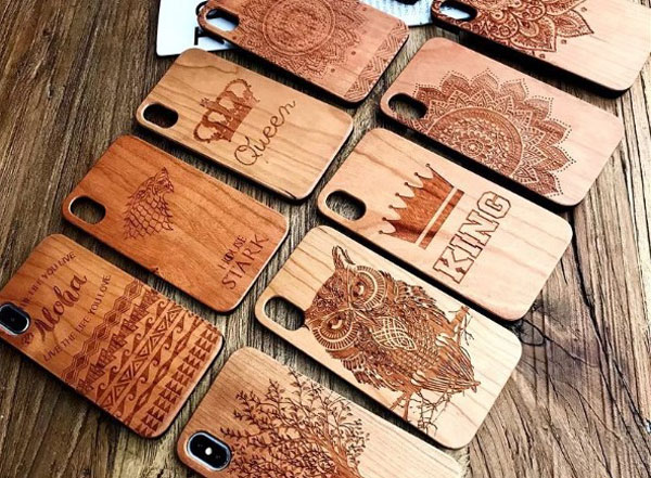 Wood Carved iPhone Case