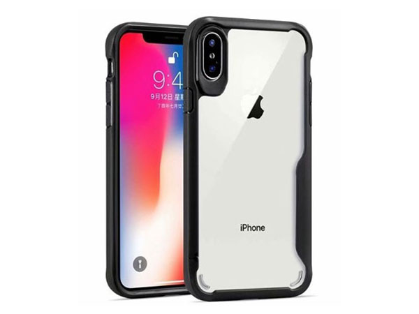 Clear Protective Case With Shockproof Bumper