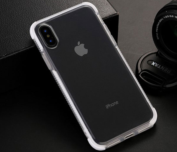 Clear Protective Case With Tough Bumper