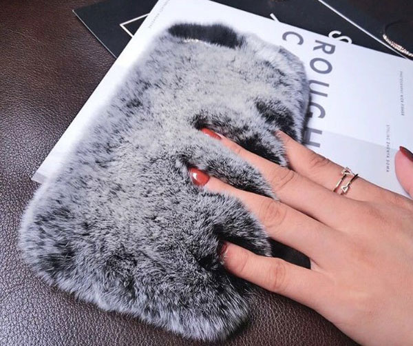 Fluffy Faux Fur iPhone Case