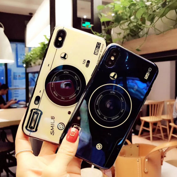 Vintage Camera Design iPhone Cases For Couples