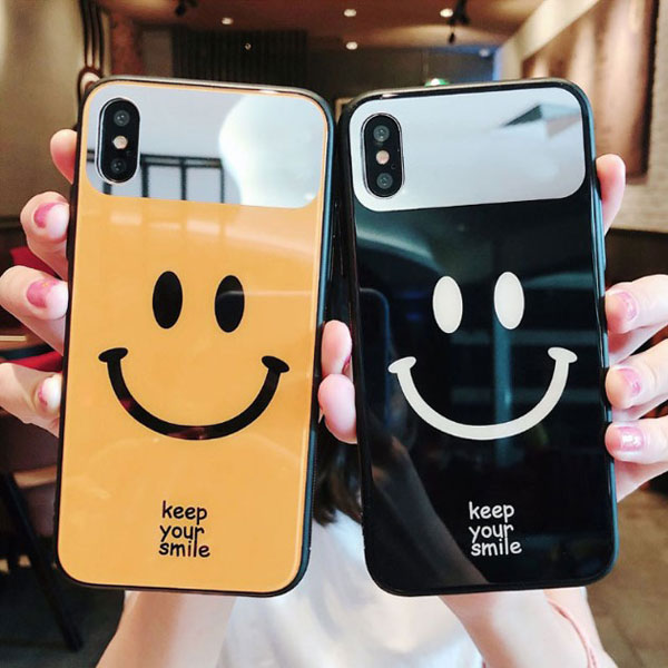 Cute Smiley Face iPhone Cases For Couples