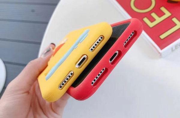 iPhone Cute 3D Soft Silicone Case