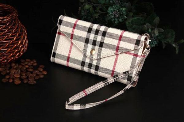 iPhone Lattice Leather Wallet Case