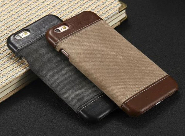 iPhone Slim Leather Business Back Case