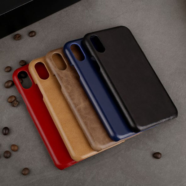 iPhone X Genuine Leather Bussiness Case