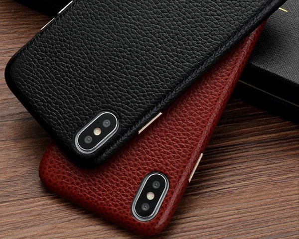 Lychee Grain Genuine Leather Case