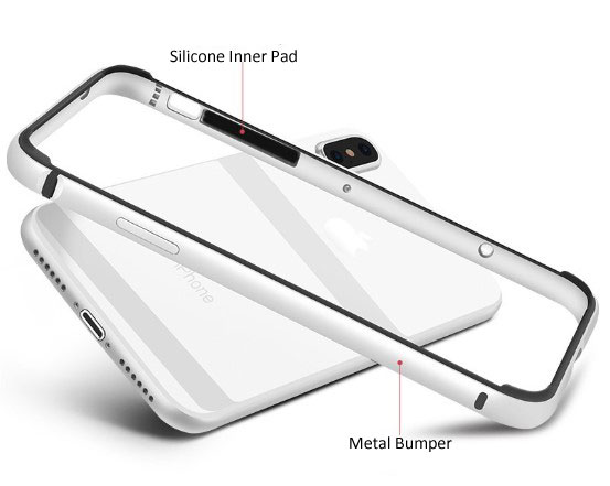 iPhone X Metal Aluminum Bumper Case