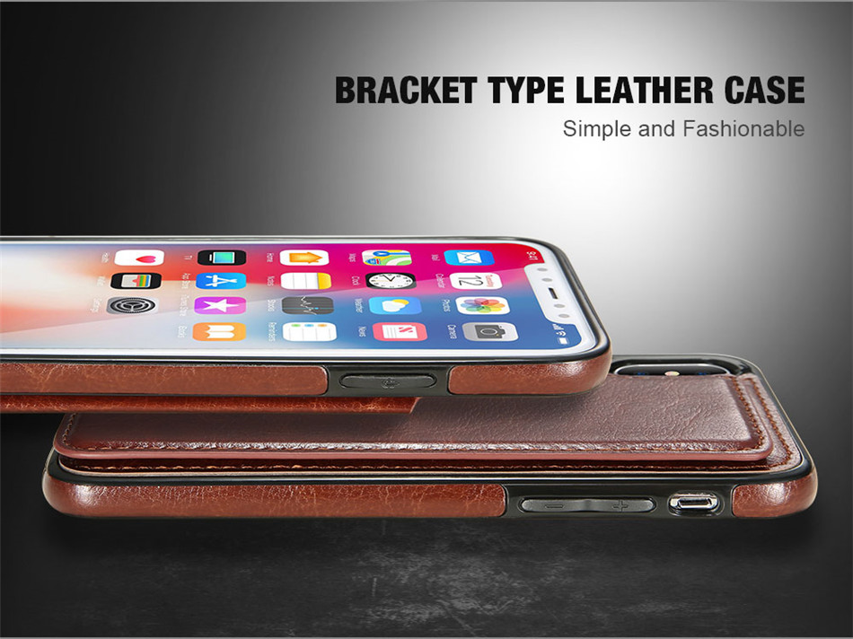 KISSCASE-Retro-PU-Leather-Card-Slots-Bracket-Case-for-iPhone-X-88-Plus77-Plus66s6-Plus6s-Plus-1252728